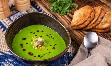 Супа от магданоз със свински дроб