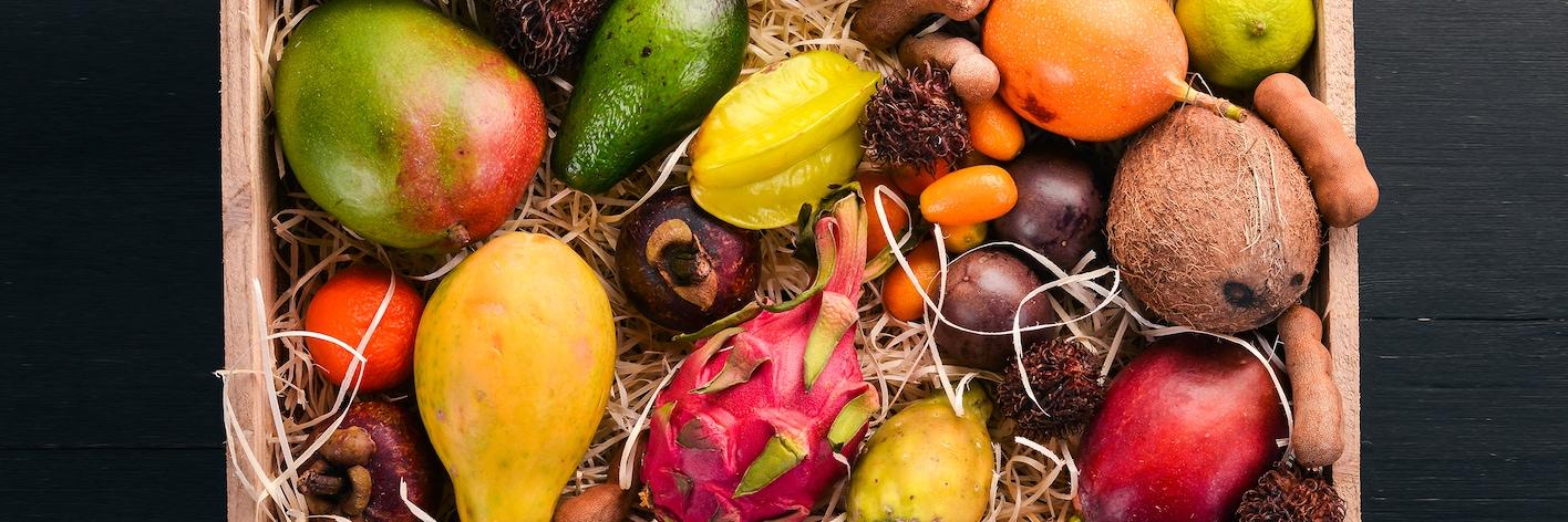 Екзотични плодове и зеленчуци
