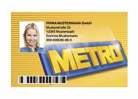 Goldene Kundenkarte
