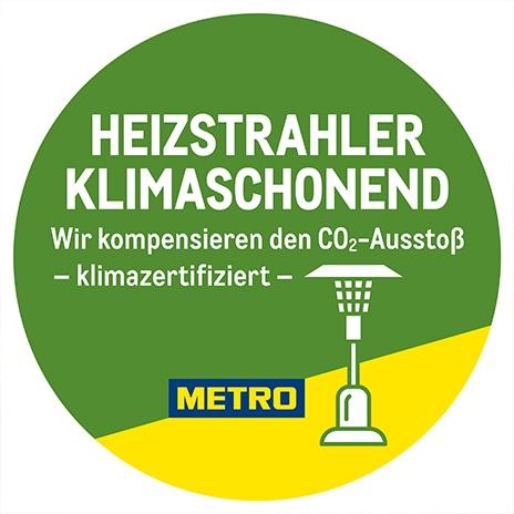 Heizstrahler klimaschonend