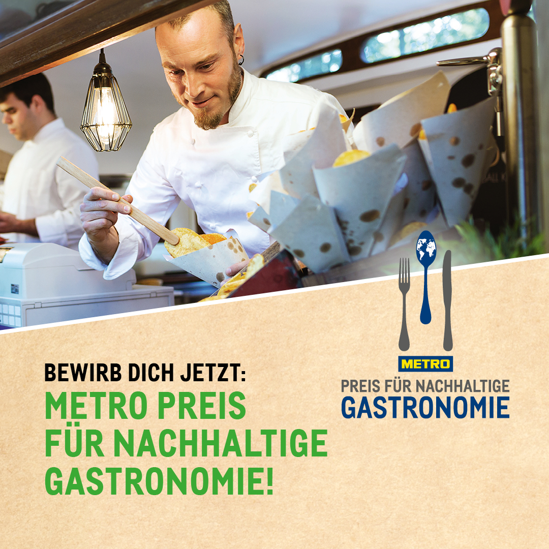 METRO Preis für nachhaltige Gastronomie
