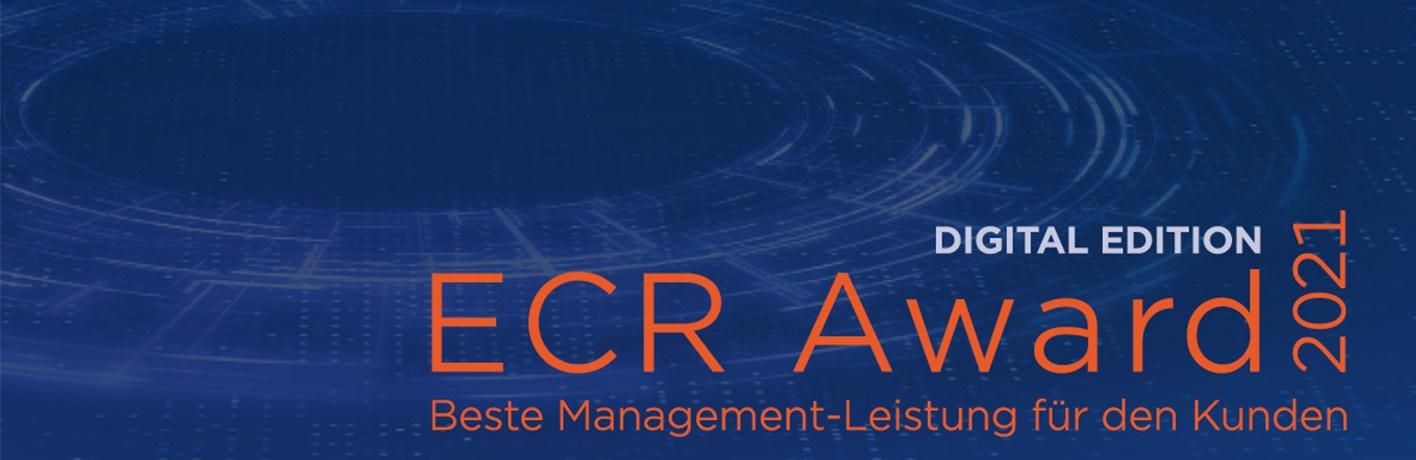 Logo ECR Award 2021. Bildquelle: GS1 Germany