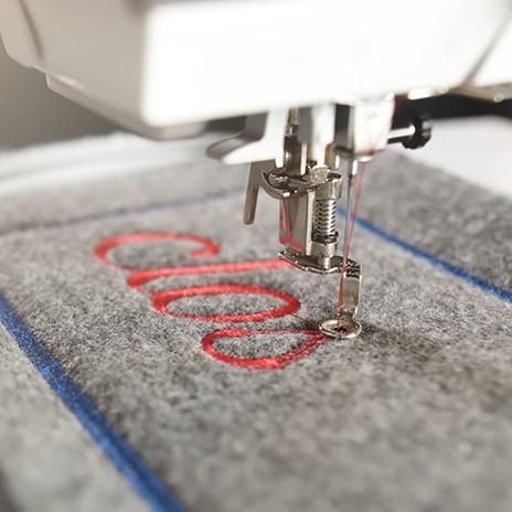 Textilien veredeln und personalisieren