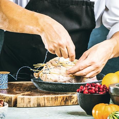 Die perfekte Gans für Gastro-Profis