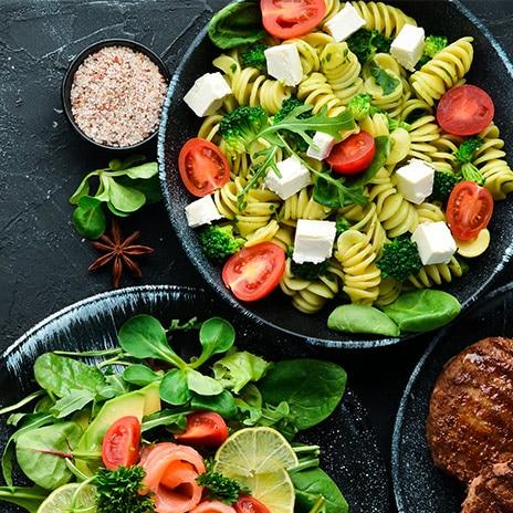 Salat als Sattmacher