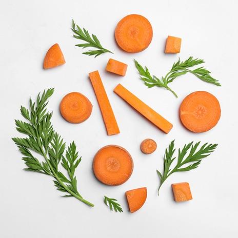 Karotten zu Ehren eines Königs