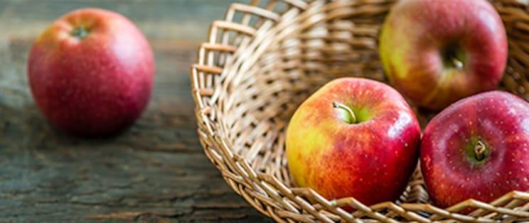 Braeburn Äpfel