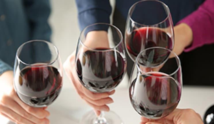Alkoholfreier Rotwein