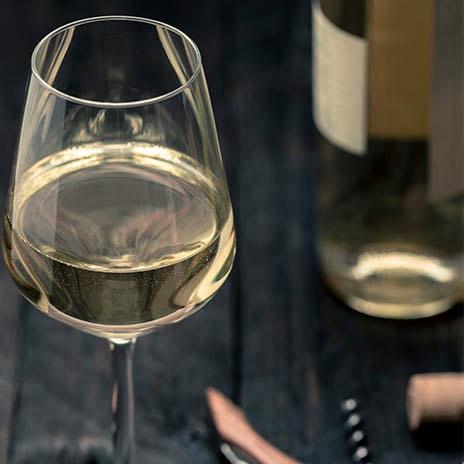 Beliebter Weißwein