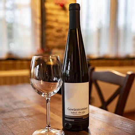 Weißwein aus Tramin