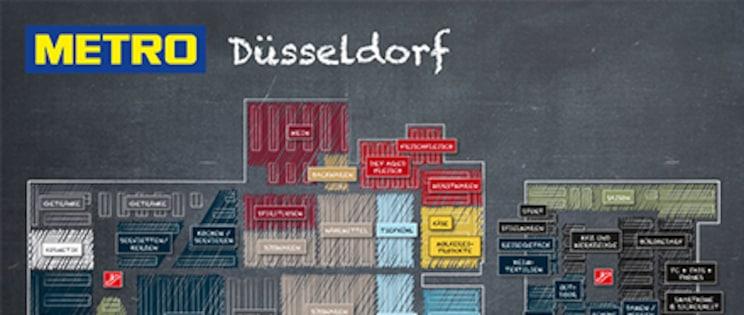 Hallenplan Düsseldorf