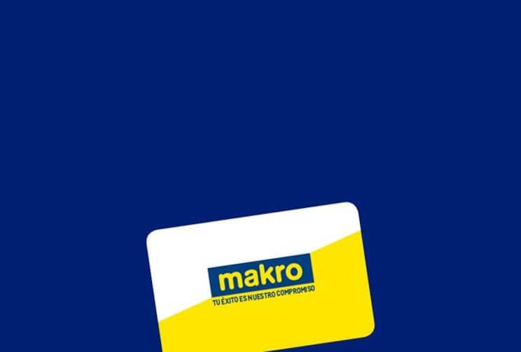 Tarjeta de cliente de Makro