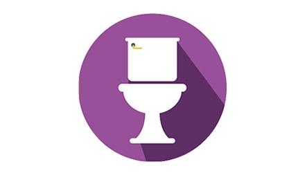 Limpieza de baños en hostelería