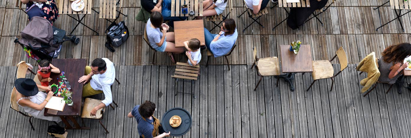 equipamiento terraza hosteleria