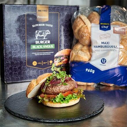hamburguesa makro premium