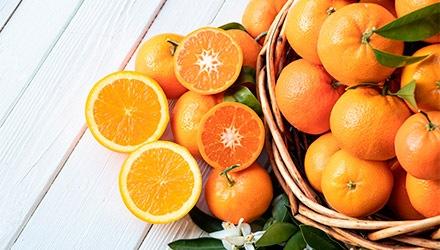 Naranjas en tiendas Makro