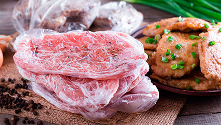 carne congelada exótica