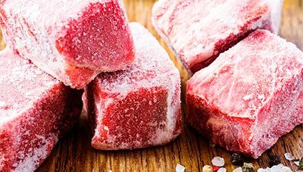 carne vacuno y ternera congelada