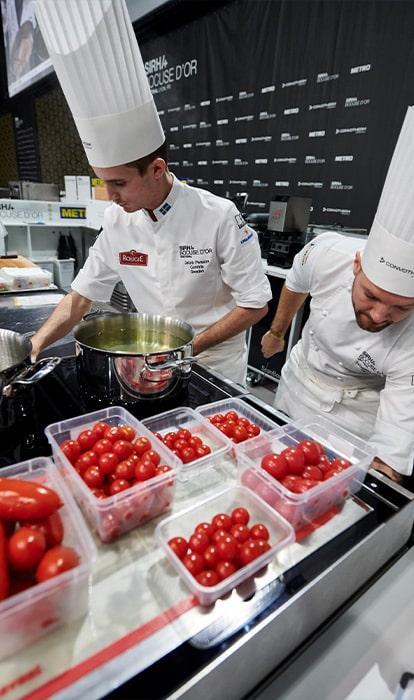 SIRHA 2021 - Epreuve de tomates cerise