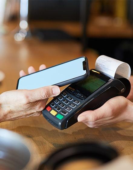 Terminal de paiement pour les titres-restaurant