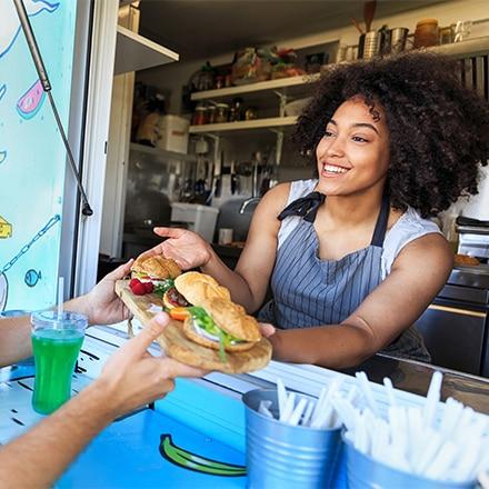 Le food truck burger