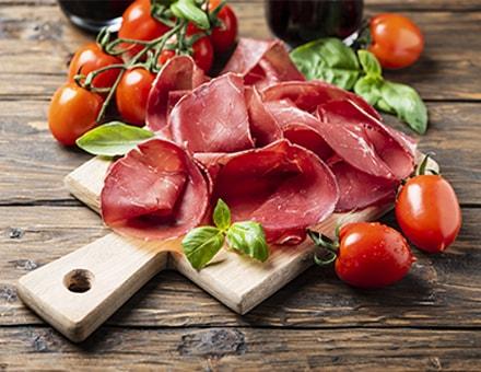 Produit italien - la bresaola