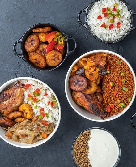 Cuisine africaine : fruits et légumes du plat au dessert
