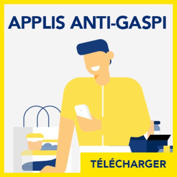 Fiche anti gaspillage alimentaire : Utiliser des appli anti gaspi