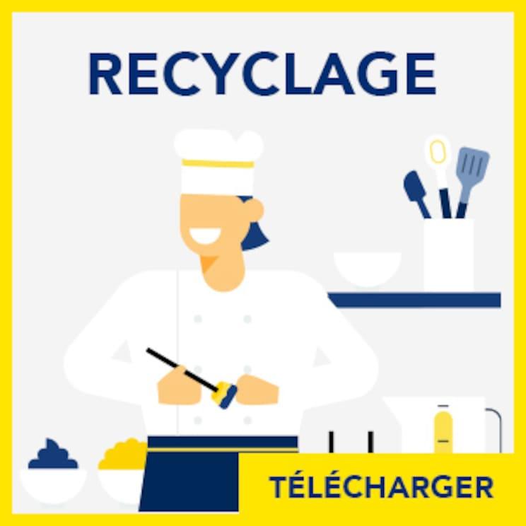 Fiche anti gaspillage alimentaire : Réutiliser et transformer