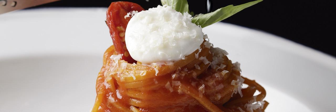 Recettes de chefs - Tagliolini aux tomates