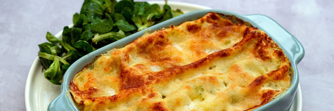 Recettes de chefs | Lasagne au saumon et aux épinards