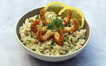 Recettes de chefs | Risotto aux crevettes