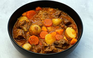 Recettes de chefs - Ragoût de bœuf