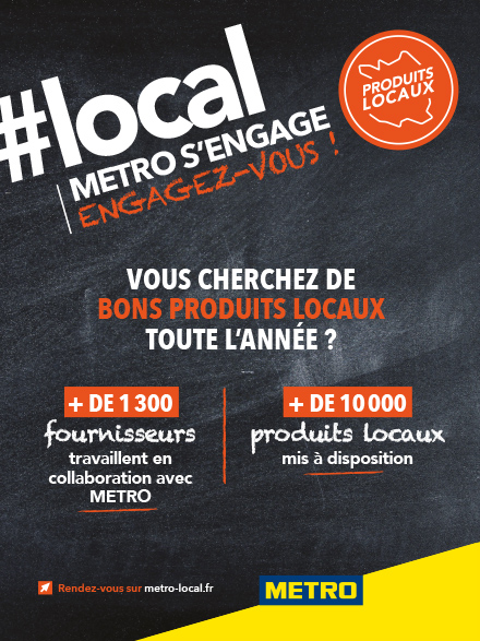 #local METRO s'engage - Affiche