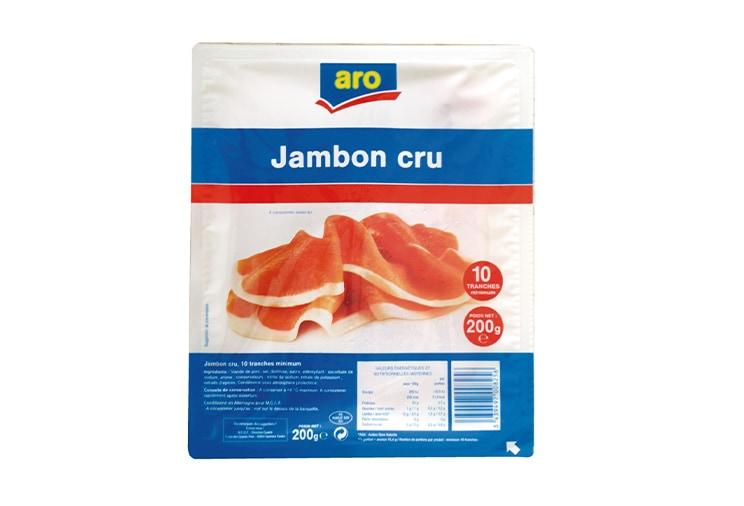 Aro : jambon cru