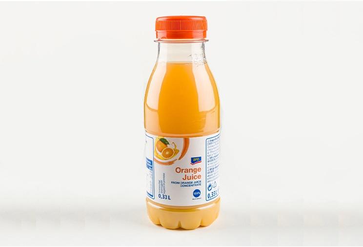 Aro : jus d'orange