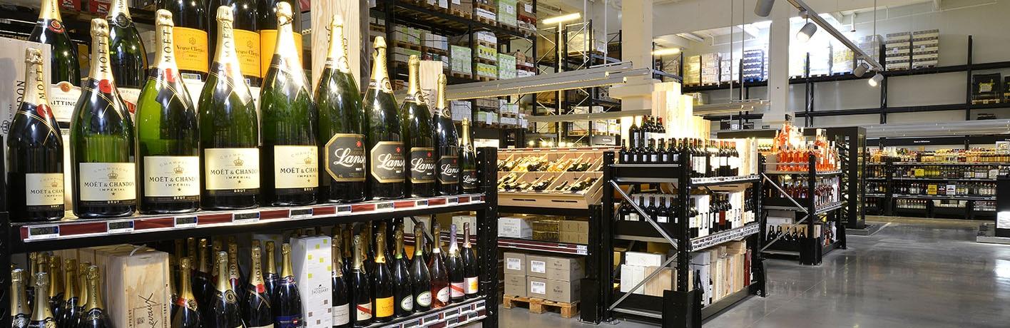 Présentation offre vins et champagnes