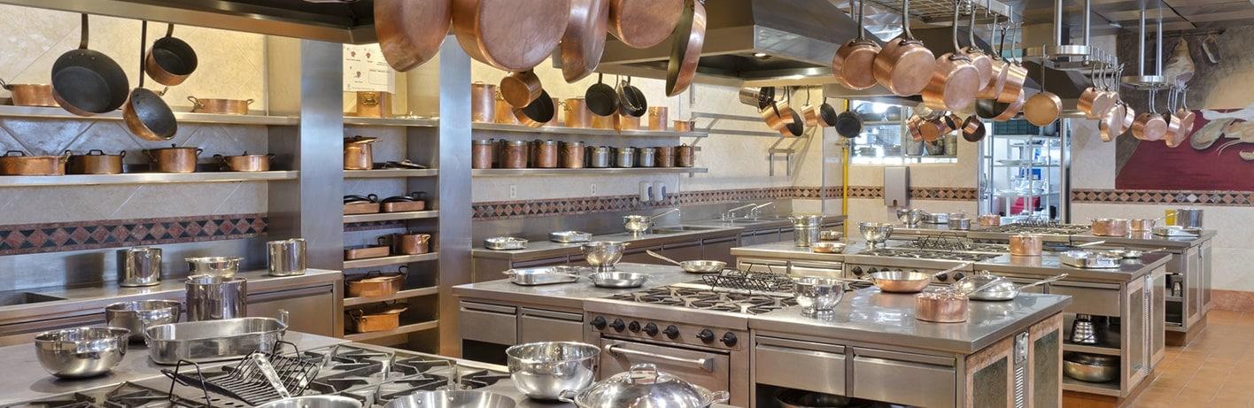 L'équipement des cuisines professionnelles