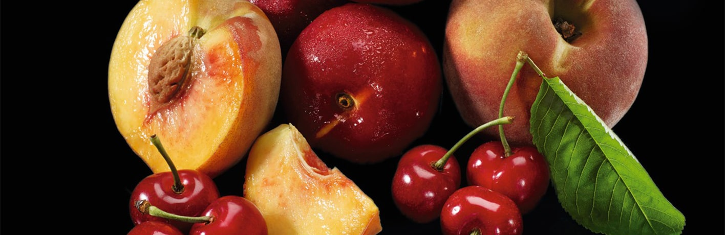 Les fruits à noyau des professionnels
