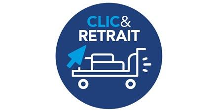 Le service Clic & Retrait METRO