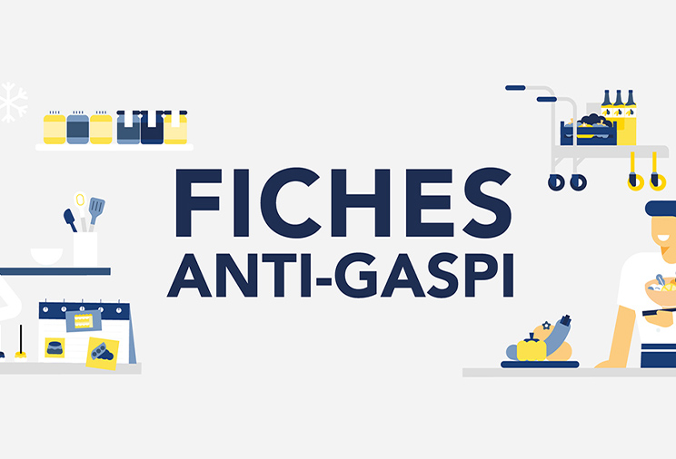 Les fiches anti-gaspillage alimentaire