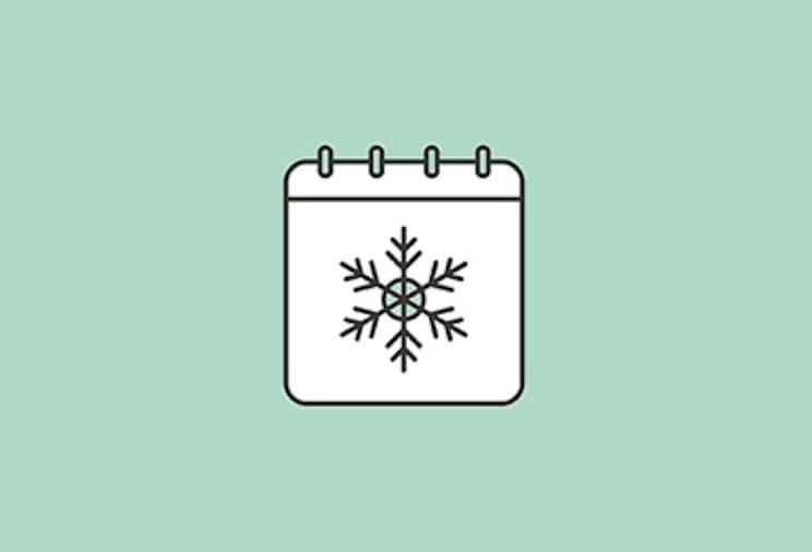 Les produits de saison d'hiver