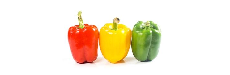 tri boje paprika