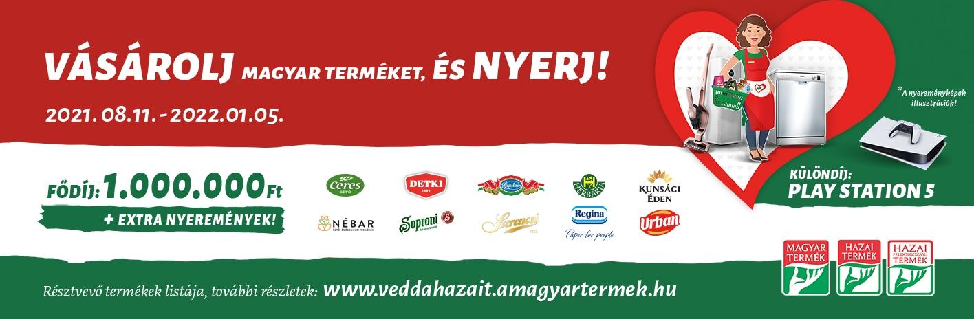 Vásárolja magyar terméket és nyerj!
