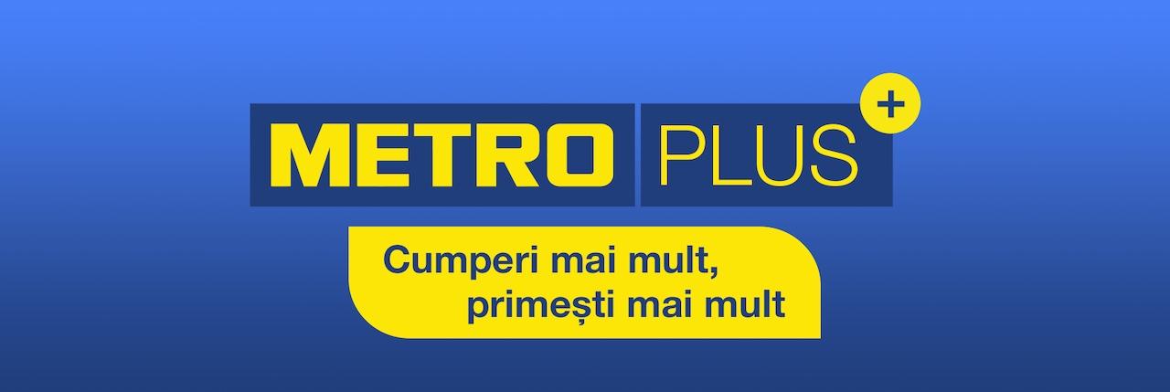 Metro plus program de loialitate