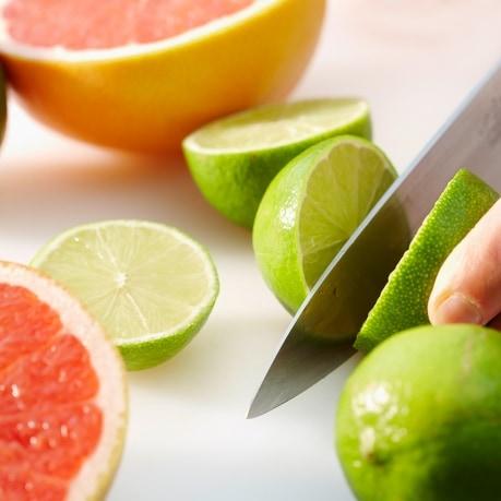 Fructe exotice in moldova - lime taiat, grapefruit
