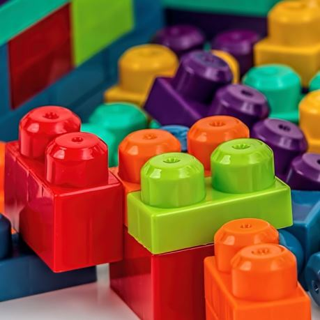 Jucarii lego, constructor multicolor