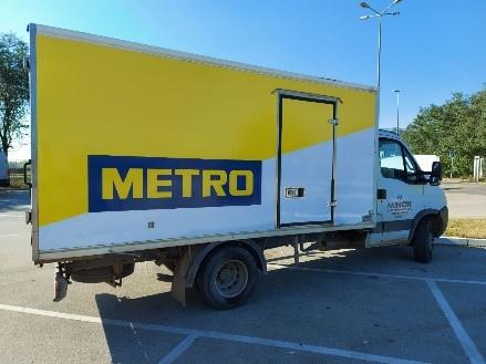 kamion za dostavu robe